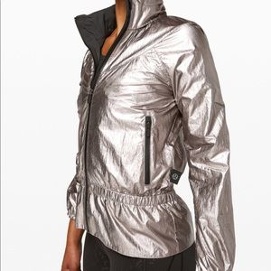 NWT Lulu Barry's Stronger As One Jacket Foil Sz 6